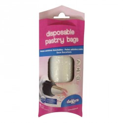 DISPOSABLE PASTRY BAG 30CM-75 MICRONS IN BLISTER