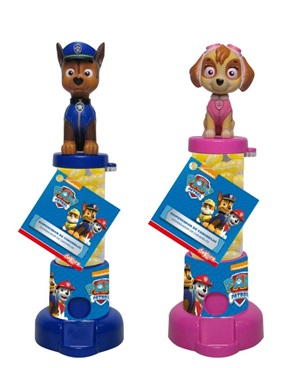 CANDY DISPENSER PAW PATROL