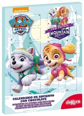 calendario adviento chocolate paw patrol