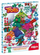 calendario adviento chocolate trolls