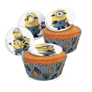 231195 DISPLAY 18 BLISTER MINI DISCO MINIONS 3,4CM AZF