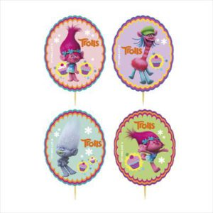 CUPCAKE DECORATION KIT TROLLS