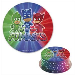 Disco comestible Pj Masks