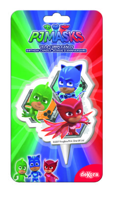 Candles 2D Pj Masks