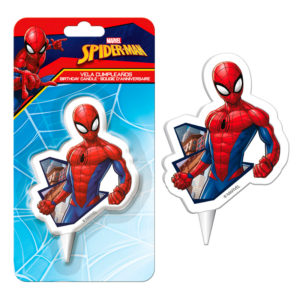 DISPLAY 12 VELAS 2D SPIDERMAN
