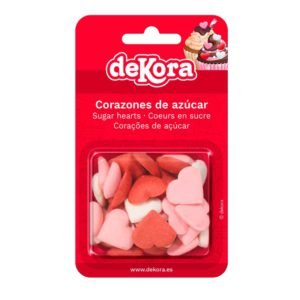 BLISTER CORAZONES AZUCAR MIX 35G