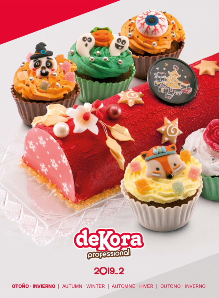 Dekora catalogues · Pastry, Confectionery and Cake Design products